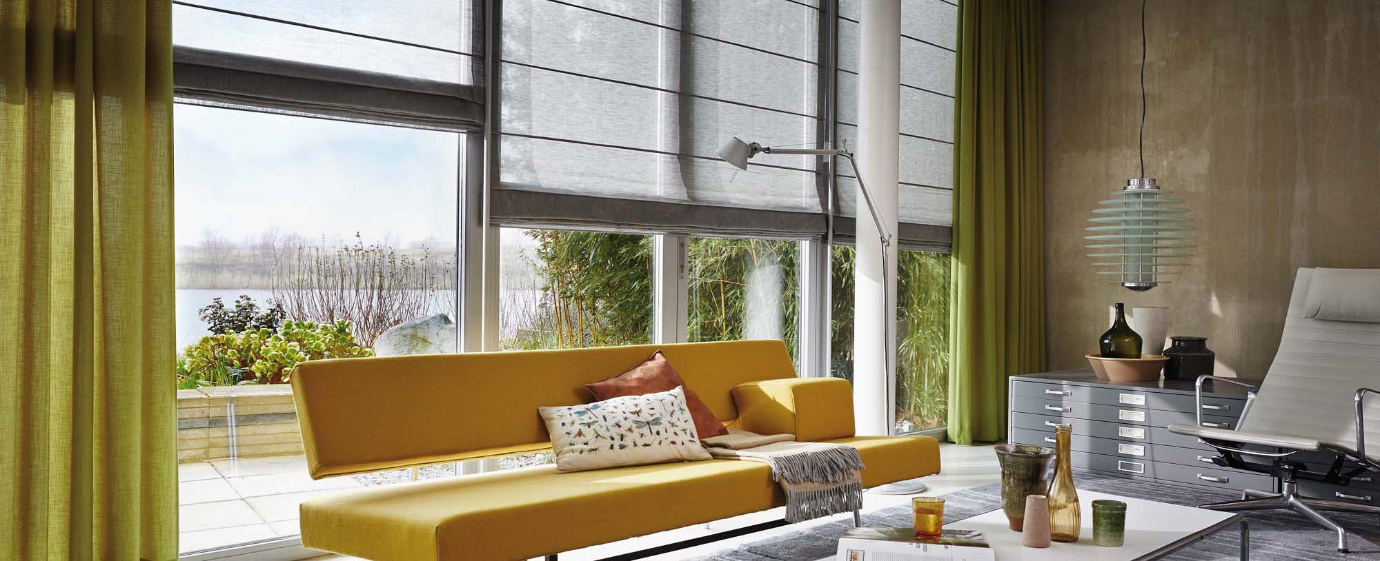 Binnenzonwering Luxaflex Woonkamer