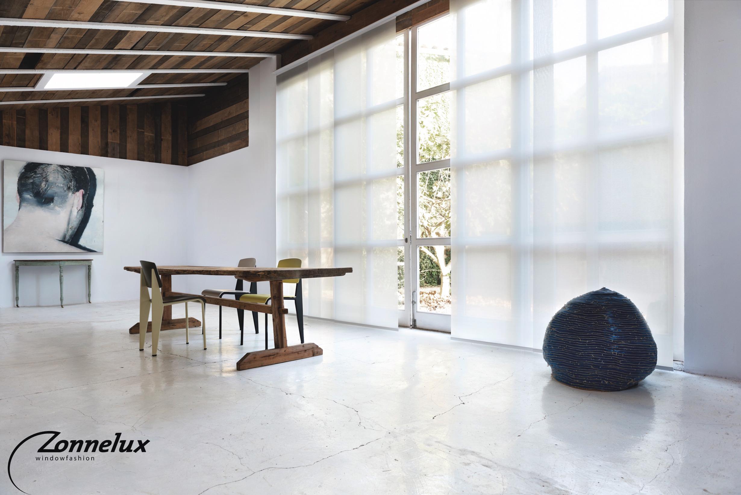 Paneel Gordijn 10 : Akoestische lamellen gordijnen dox acoustics